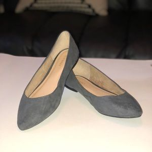 Suede Old Navy Flats -Gray